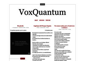 voxquantum.wordpress.com