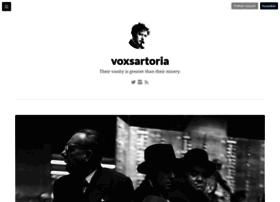 voxsartoria.com