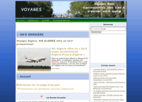 voyages.algerieautrefois.com