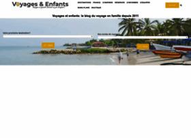 voyagesetenfants.com
