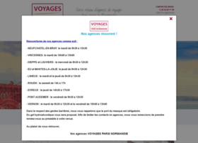 voyagesparisnormandie.com
