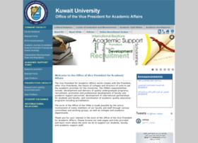 vpaa.kuniv.edu.kw