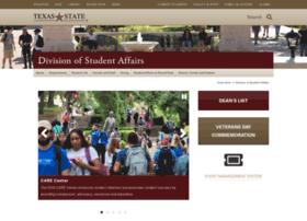 vpsa.txstate.edu