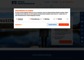 vr-bank-westmuensterland.de