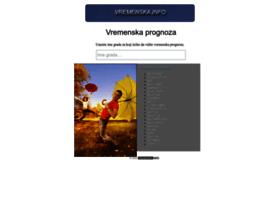 vremenska.info