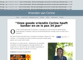 vriendenvancorine.nl