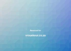 vrouekeur.co.za