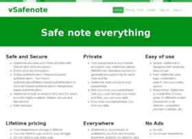 vsafenote.com