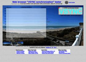 vsynctester.com