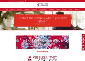 vuselelacollege.co.za