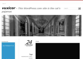 vuxicor.wordpress.com