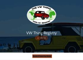 vwthingregistry.com