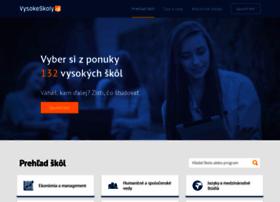 vysokeskoly.sk