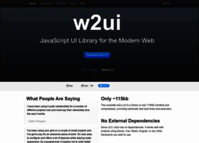 w2ui.com