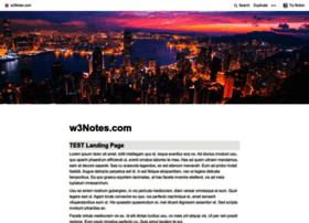 w3notes.com