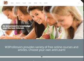 w3professors.com