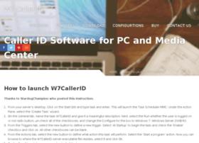 w7callerid.com