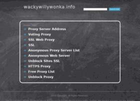 wackywillywonka.info