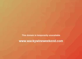 wackywineweekend.com