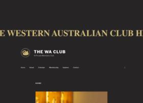waclub.com.au