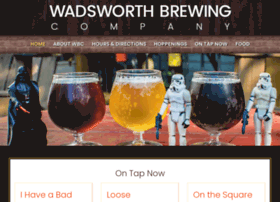 wadsworthbrewingcompany.com