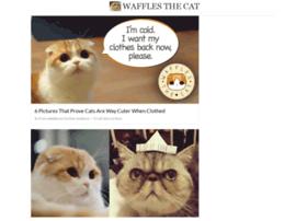 wafflesthecat.collectivepress.com