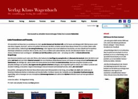 wagenbach.de