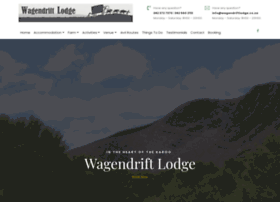 wagendriftlodge.co.za