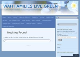 wahfamilieslivegreen.wordpress.com