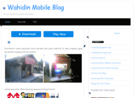 wahidin.mywapblog.com