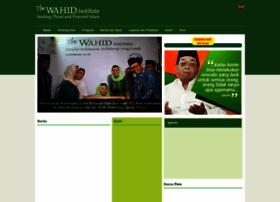 wahidinstitute.org