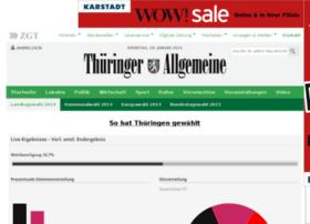 wahl.thueringer-allgemeine.de