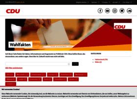 wahlfakten.cdu.de