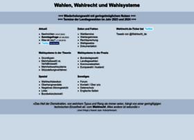 wahlrecht.de