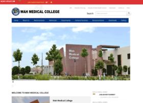 wahmedicalcollege.edu.pk