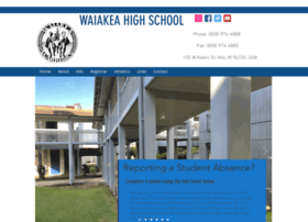 waiakeahigh.k12.hi.us