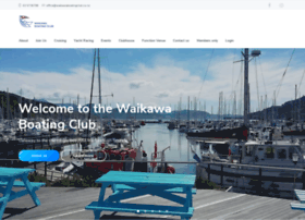 waikawaboatingclub.co.nz