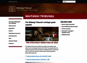 waitangitribunal.govt.nz