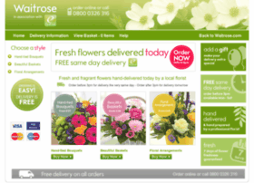 waitrose.eflorist.co.uk