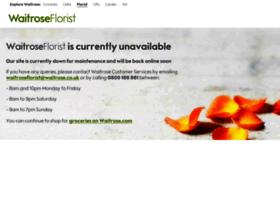 waitroseflorist.com