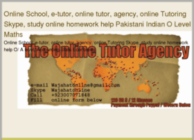 Private home tutors are offering online jobs for teaching in karachi