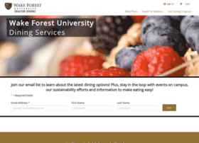 wakeforest.campusdish.com