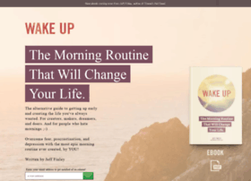 wakeupbook.launchrock.com