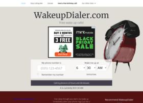 wakeupdialer.com