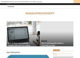 wakeupmicrosoft.com
