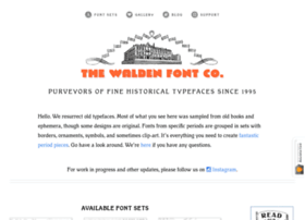 waldenfont.com