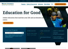My walden university portal websites and posts on my walden university ...