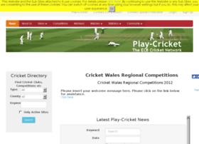 walesregionalcomps.play-cricket.com
