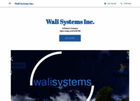 walisystemsinc.com