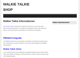 walkie-talkie-shop.de
